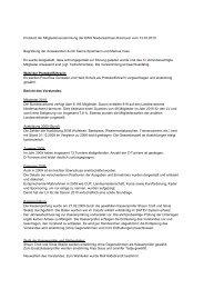 Protokoll der Mitgliederversammlung der EWU ... - Wittelsbuerger