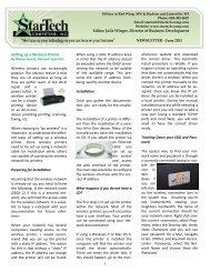 Setting up a Wireless Printer - StarTech Computing, Inc.
