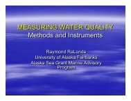 Water Quality Monitoring Instruments and Methods