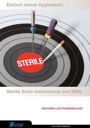 Sterile Endo-Instrumente - Vdw-dental.com