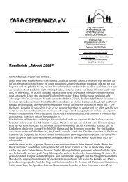 """Rundbrief: """"Advent 2009"""""""