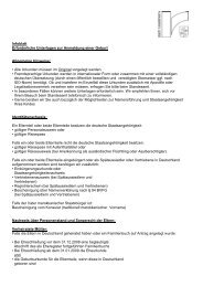 Unterlagen zur Anmeldung einer Geburt (PDF) - Stadt Rüsselsheim