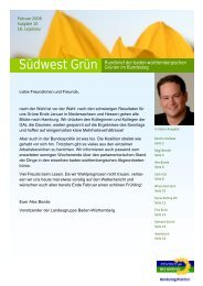 Februar 2008 - Fritz Kuhn MdB