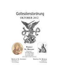 Gottesdienstordnung Oktober 2012 - Sankt-michaels-kirche.de