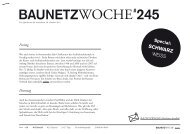 Baunetzwoche#245 – Schwarz Weiss
