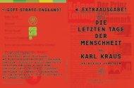 Die letzten tage Der Menschheit - Schauspiel Stuttgart
