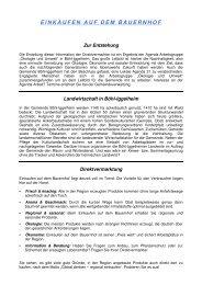 EINKAUFEN AUF DEM BAUERNHOF - Gemeinde Böhl-Iggelheim