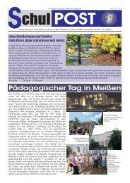 zur Schulpost vom September 2009 - Robert-Schumann-Gymnasium