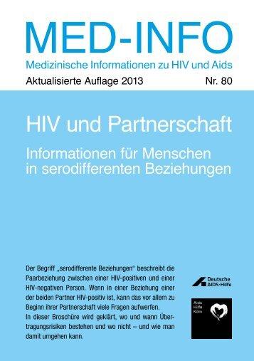 HIV und Partnerschaft | Neuauflage 2013 - AIDS-Hilfe Köln e.V.