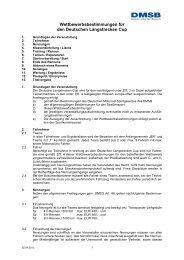 Wettbewerbsbestimmungen Langstrecken-Cup 2013 - DMSB