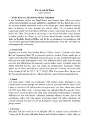 Achim Detmers, Calvin und die Juden als PDF - reformiert-info.de