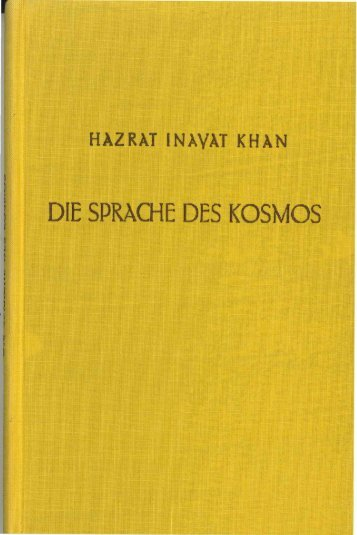 DIE SPRACHE DES KOSMOS - International Sufi Movement USA