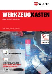 product design 2011 - Würth