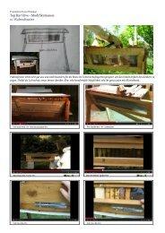 Top Bar Hive - Modifikationen: 01 Wabenfenster - WordPress – www ...