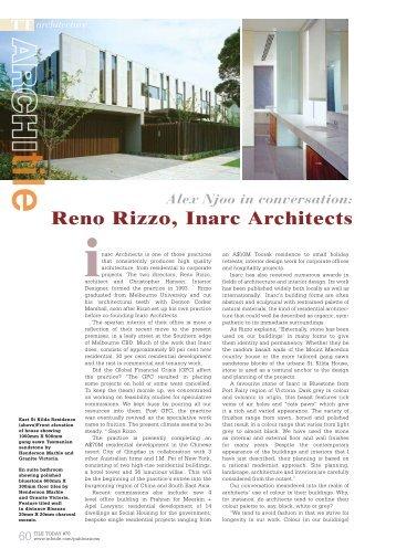 Reno Rizzo, Inarc Architects - Infotile
