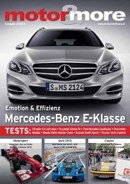 Mercedes-Benz E-Klasse - Motor & more