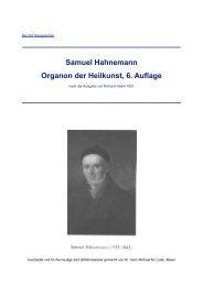 Organon, 6. Aufl. bearb. - hier