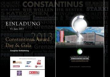 können Sie die Einladung zum Constantinus Day & Gala als pdf ...