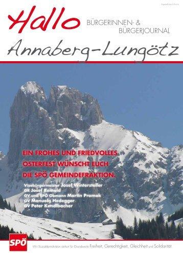 download - Gemeinde Annaberg-Lungötz