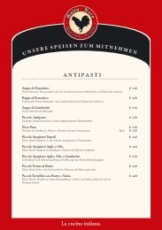 Speisen zum Mitnehmen - pizzeriagallonero.de