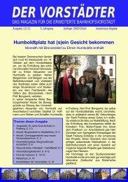 Ausgabe November 2011 - Der Vorstädter