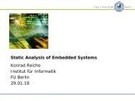 slides - Fachbereich Mathematik und Informatik
