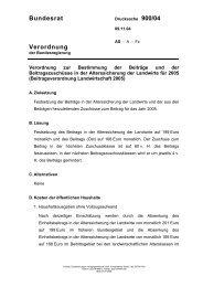 Bundesrat Verordnung - Umwelt-online