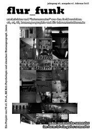 Ausgabe 01: Januar 2012 - Fachschaft 04