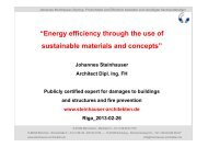 """""""Energy efficiency through the use of sustainable materials and ..."""