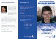 HELFEN SIE VINCENT - Schyren-Gymnasium Pfaffenhofen