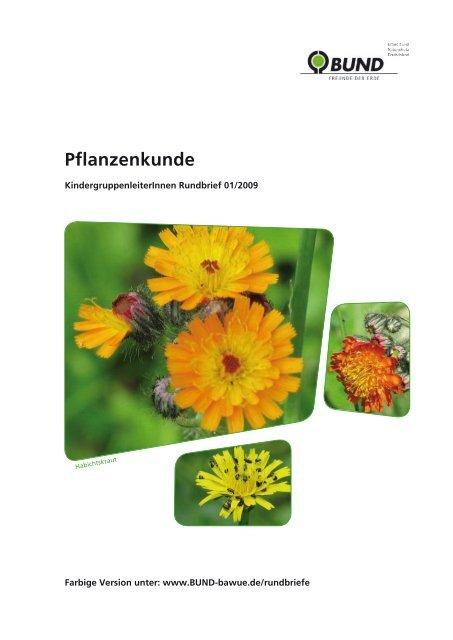 Pflanzenkunde - BUND - des BUNDs