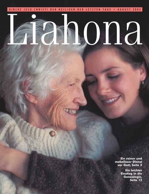 August 2003 Liahona