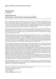 Pressemitteilung 11.07.2013 Wettbewerbsgewinn Neubau Sport ...