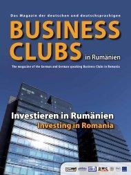 Investieren in Rumänien - Deutscher Wirtschaftsclub Siebenbürgen ...