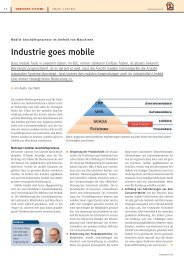 Industrie goes mobile - Noser Engineering AG