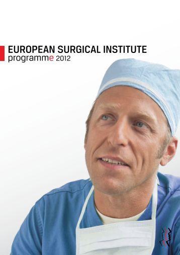 EuropEan Surgical inStitutE - <b>Karl Storz</b> - european-surgical-institute-karl-storz