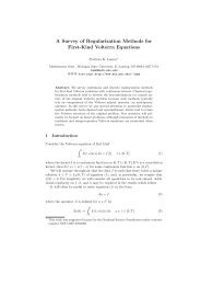 A Survey of Regularization Methods for First-Kind Volterra Equations