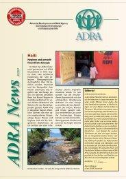 s 02/2011 Hygiene und umwelt- freundliche ... - ADRA Österreich