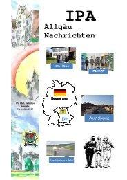 Allgäu Nachrichten 2012 - IPA Kempten