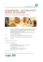 Aktuelles Flugblatt - Frauengesundheitszentrum Graz