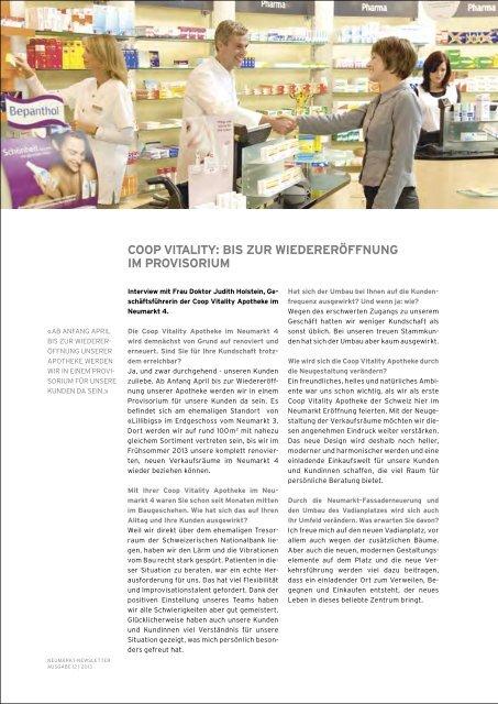 Newsletter 12 2013 - neumarkt-sg.ch