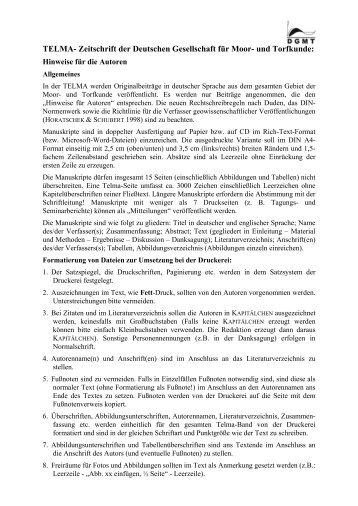 Download as PDF file - Deutsche Gesellschaft für Moor