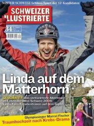 Artikel PDF Titelseite und Interviewseiten ansehen - Linda Fäh