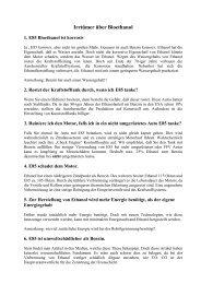 Irrtümer über Bioethanol - E85info.eu