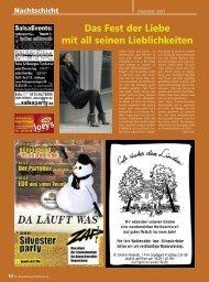 Nachtschicht - Regensburger Stadtzeitung