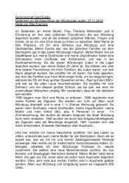 Gemeinschaft Sant'Egidio Gedenken an die Deportation der ...