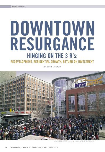 Redevelopment, Residential Growth, Return on Investment