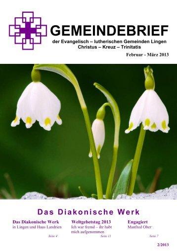Ausgabe Februar/März 2013 - Kreuzkirche Lingen