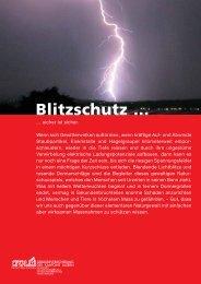 Allgemeines zum Blitzschutz - Guggisberg Dachtechnik AG