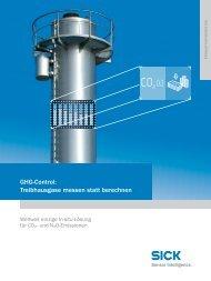 GHG-Control: treibhausgase messen statt berechnen - Sick